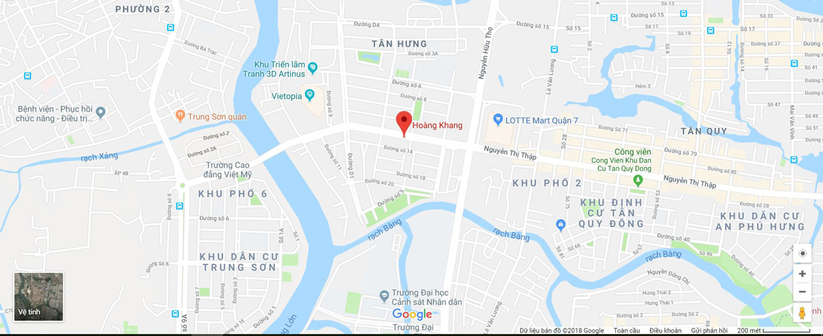 Hoang Khang Organic Map